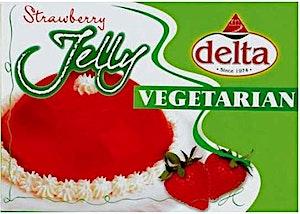 Delta Jelly Vegeterian Strawberry 85 g
