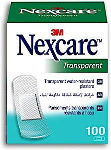 Nexcare Transparent Bandages 3M 100's