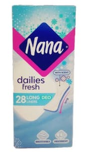 Nana Daily Fresh Long  Deo 28's