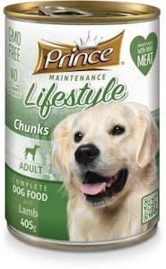 Prince Adult Dog Food Lamb Can 405 g