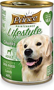 Prince Adult Dog Food Lamb Can 405 g