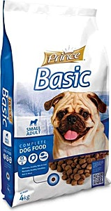Prince Basic Small Adult Dog Dry Food 4 kg