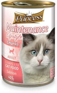 Prince Adult Cat Food Salmon Can 415 g