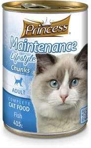 Prince Adult Cat Food Fish Can 415 g