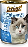 Prince Adult Cat Food Fish Can 405 g