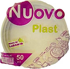 Nuovo Plastic Plate 22 cm Medium 50's