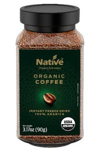 Native Organic Instant Coffee 90 g