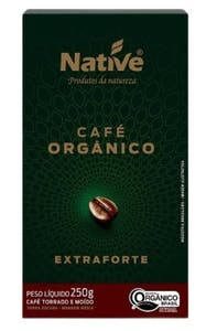 Native Organic Ground Coffee Bold 250 g