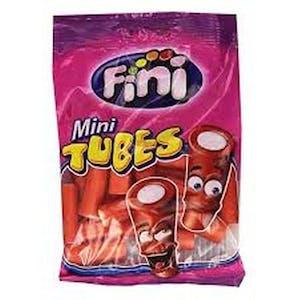 Fini Mini Strawberry Tubes 80 g