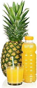 Ananas Juice Bottle