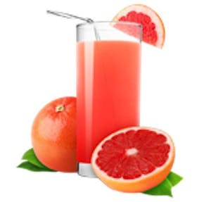 Grapefruit Juice Bottle