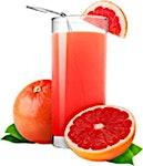 Grapefruit Juice Bottle