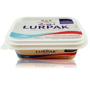 Lurpak Butter Spreadable Light Unsalted 250 g