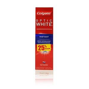 Colgate Optic White Instant 75 ml - 20% Off
