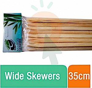 Trust Bamboo Skewers Wide 35 cm
